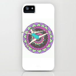 madala with a dancer iPhone Case