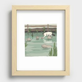Lucky Recessed Framed Print