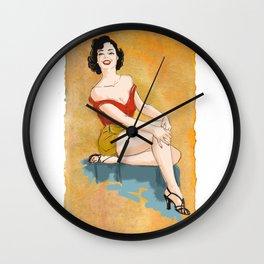 Pin-up Love! Wall Clock
