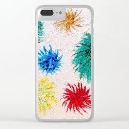 """Spring Burst"" Original Oil Painting Clear iPhone Case"