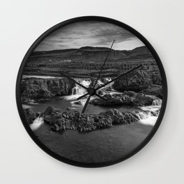 Glanni Foss Wall Clock