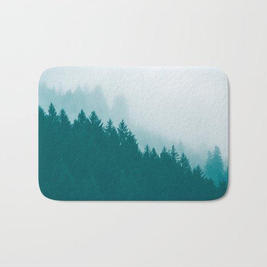 Green Mountain Fog Bath Mat