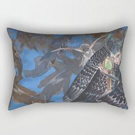 Curious Lil Beasty Rectangular Pillow