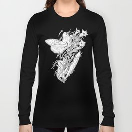 Tobacco & Butterfly Long Sleeve T-shirt