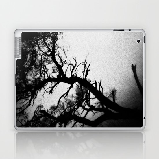 Tree in the fog Laptop & iPad Skin