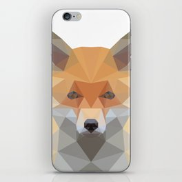 Fox Abstract Low Poly iPhone Skin