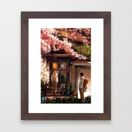 Quiet Moments Framed Art Print