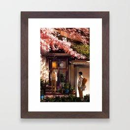 Quiet Moments Framed Art Print