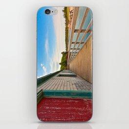 PEI Beach Boardwalk iPhone Skin