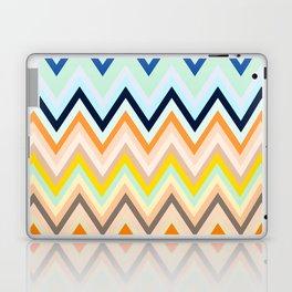 Colorful chevron Laptop & iPad Skin