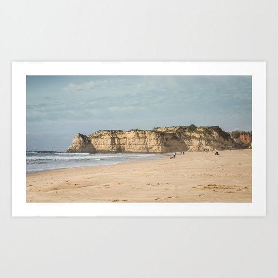 Portugal, beach, plage, sea Art Print