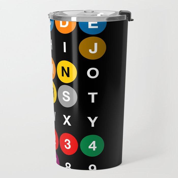 NYC: New York Subway Travel Mug