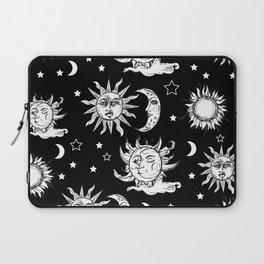 Sun and Moon Celestial Pattern Laptop Sleeve