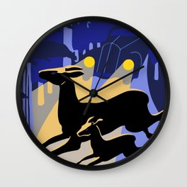 Don't kill our wild life Wall Clock