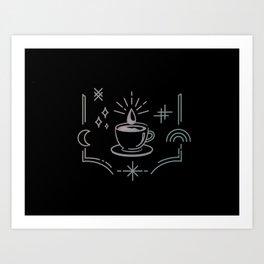 Mystic Coffee Art Print