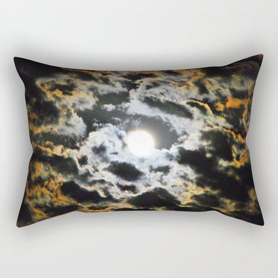 Tiger Full Moon Rectangular Pillow