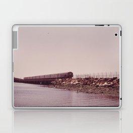 NEW YORK SUBWAY IS ABOVE GROUND WHEN IT CROSSES JAMAICA BAY AREA Laptop & iPad Skin