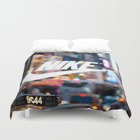 nike Duvet Covers featuring Nike by herejustbc;