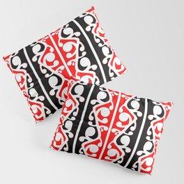 Maori Kowhaiwhai Traditional Pattern Pillow Sham