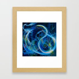 Just Floating On The Tears (Flears) Framed Art Print