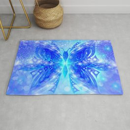 Butterfly Abstract G539 Rug