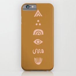 The Dreaming (mustard) iPhone Case