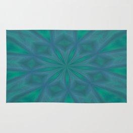 Aurora In Jade and Blue Rug