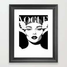 VOGUE PRINT Fashion Poster Digital Download Printable Art Retro Poster Modern Wall  Art Vintage Framed Art Print