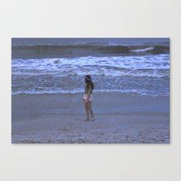 Beach Film Canvas Print