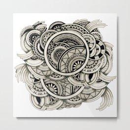 Zennt Metal Print