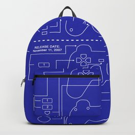 Construction of game console Backpack