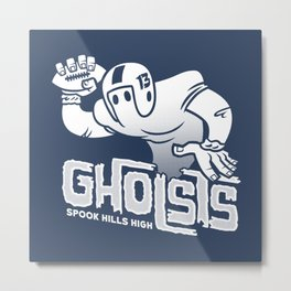 Spook Hills Gholsts Metal Print