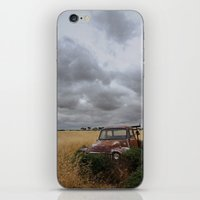 truck iPhone & iPod Skins featuring Truck by Adam Wood