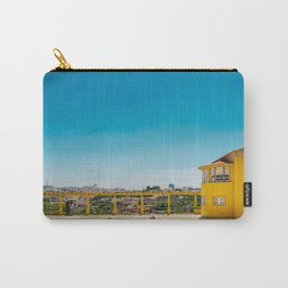 Yellow house with a view Carry-All Pouch