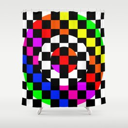Triggle | Colorful Secret Geomoetry | Play Shower Curtain