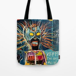 Keeping the mystery alive Tote Bag