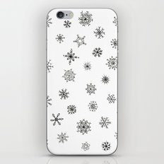 Snowflakes iPhone & iPod Skin