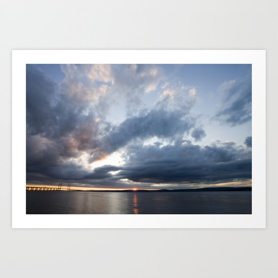 Clearing Skies Art Print
