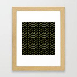 Pessah- סֵדֶר Framed Art Print