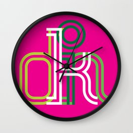 kolor it with kindness Wall Clock