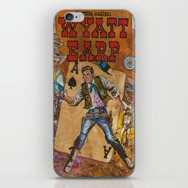 Wyatt Earp iPhone Skin