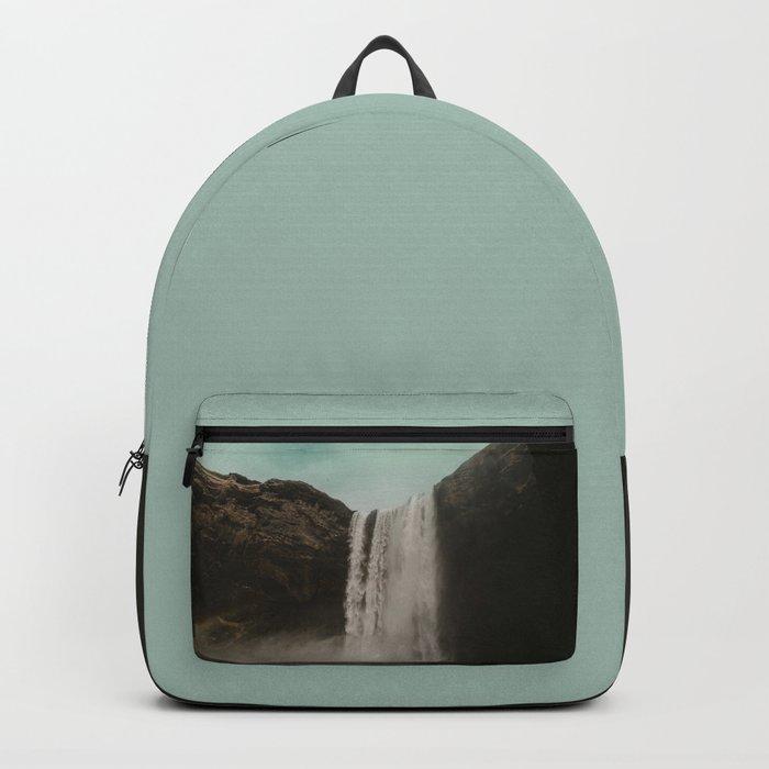 Iceland Waterfall x Skógafoss Backpack
