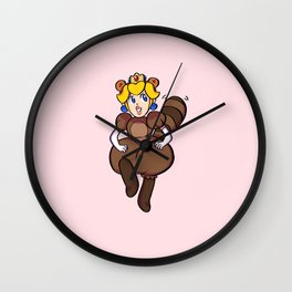 Super Peach 3D World: Tanooki Wall Clock