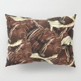 Brown Pod Puffs Pillow Sham