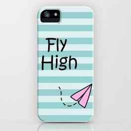 Fly High Art For Kids Room iPhone Case