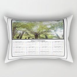 Fern tree, NZ Calendar 2017 Rectangular Pillow