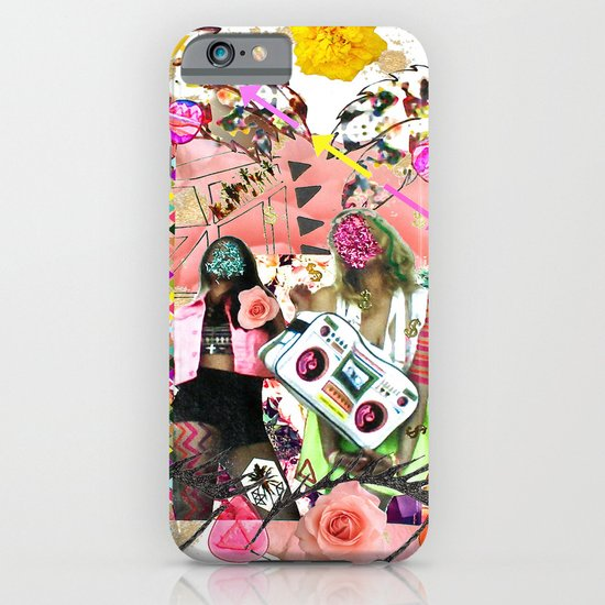 Rose-tinted Lashes In The Boom Boom Room iPhone & iPod Case