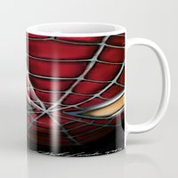 spider man Mugs featuring Spider-Man by Inspirations