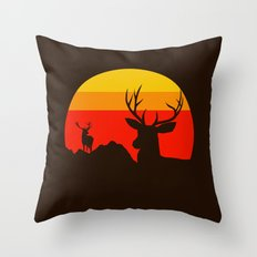 yellowstone Throw Pillow
