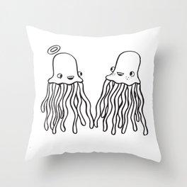 jellystiel Throw Pillow